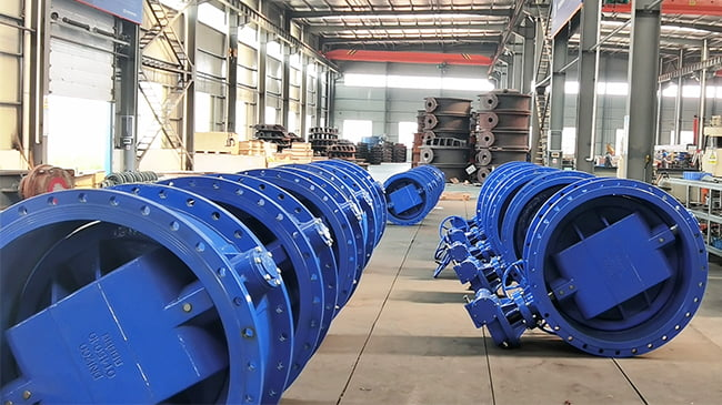 FCV-butterfly valve preparation before delivery-2