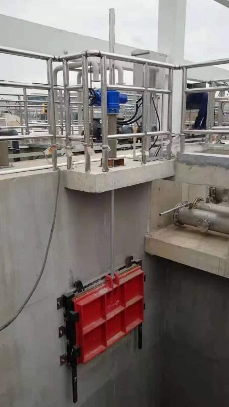 Cast iron penstock FCV china