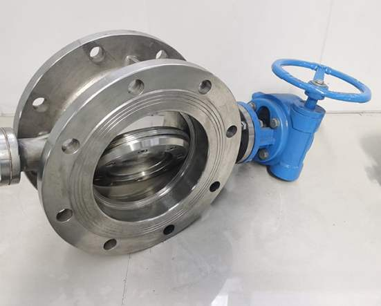 FCV Stainless Steel Triple Eccentric Metal Seal Butterfly Valve Manufacturer