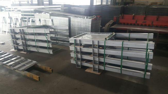 Stainless steel welding penstock FCV china