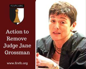 Action to Remove Judge Jane Grossman