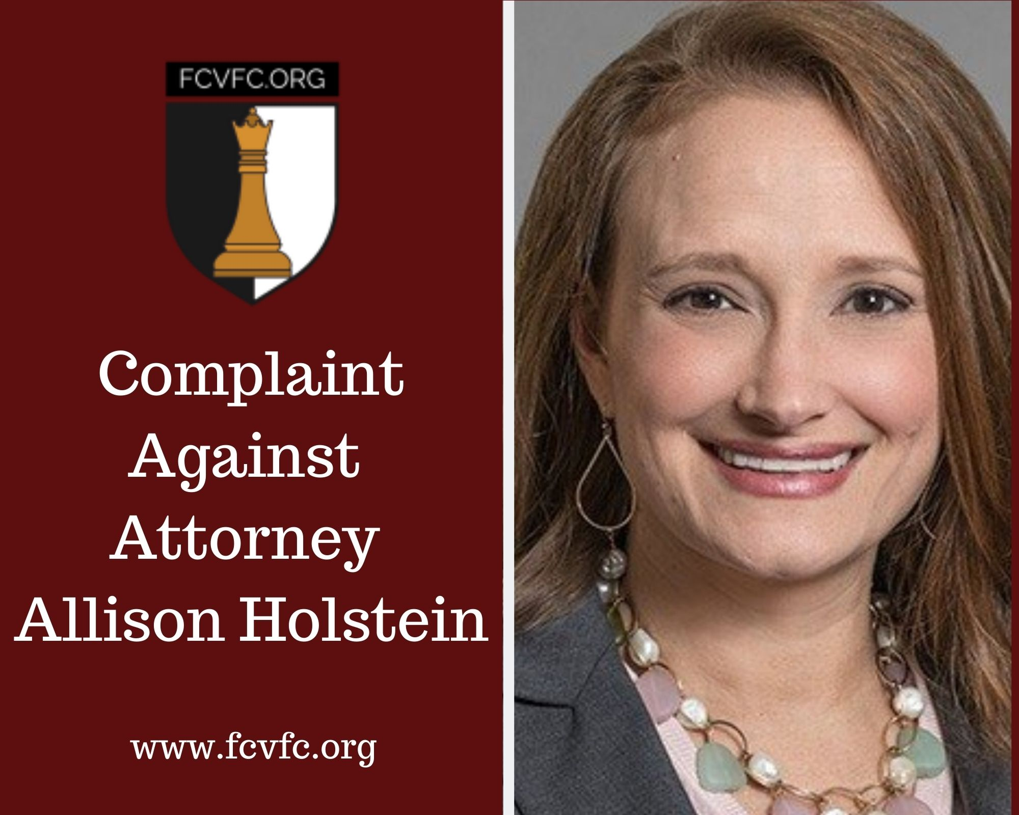 Complaint against Attorney Allison Holstein