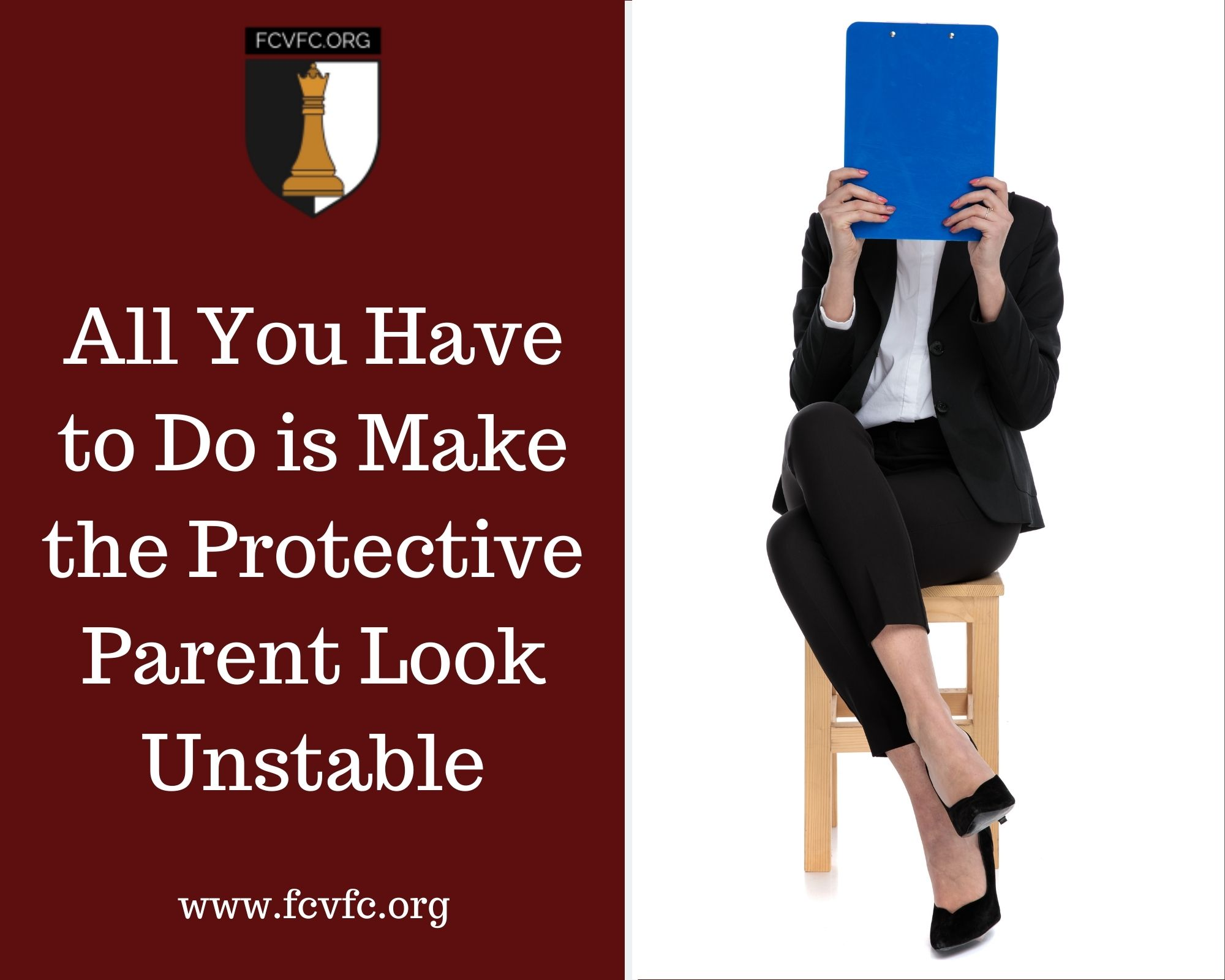 All You Have to Do is Make the Protective Parent Look Unstable