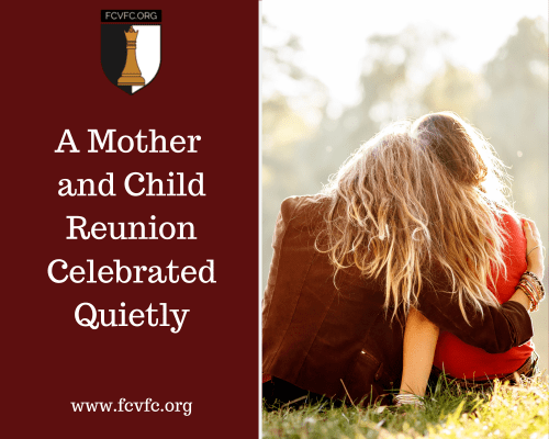 A Mother and Child Reunion Celebrated Quietly