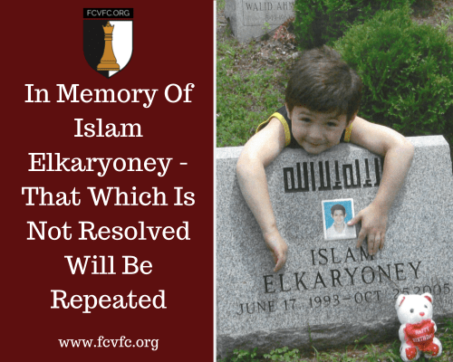 In Memory Of Islam Elkaryoney -That Which Is Not Resolved Will Be Repeated