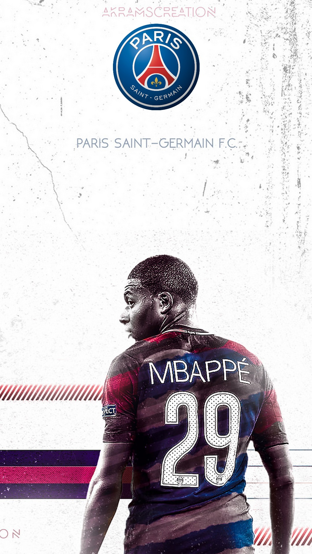 kylian mbappe psg hd wallpaper for