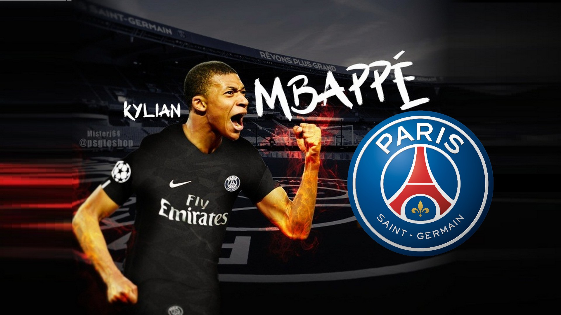 psg kylian mbappe mac backgrounds