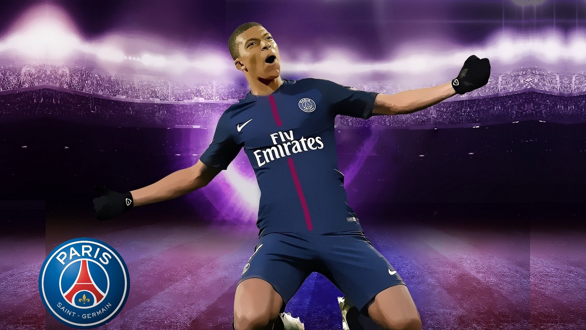 psg kylian mbappe wallpaper hd 2021