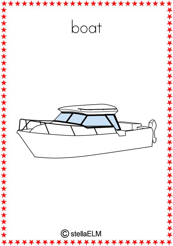 Flashcards Vehicles