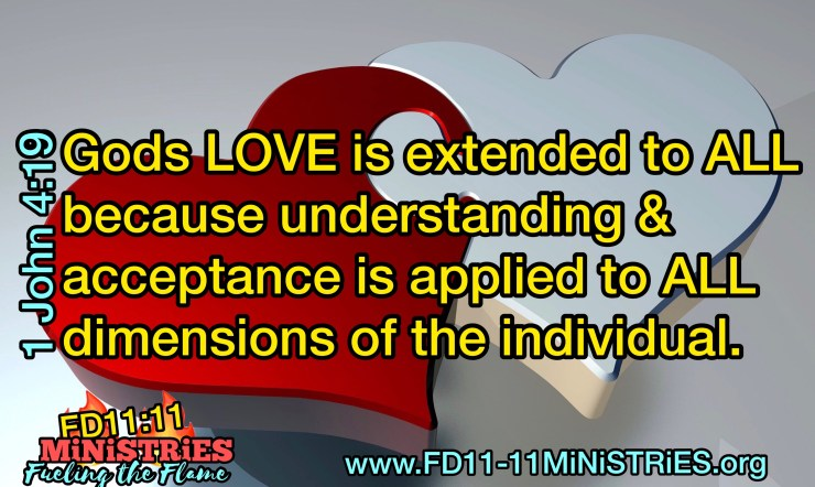 God's LOvE is Extended to ALL