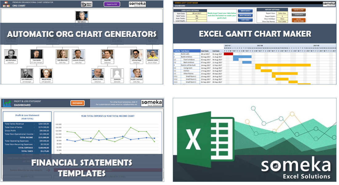 Someka Excel Templates