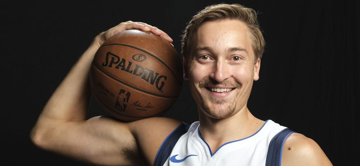 WHO, ME? MAVS' RYAN BROEKHOFF GETS HIS FIRST NBA START