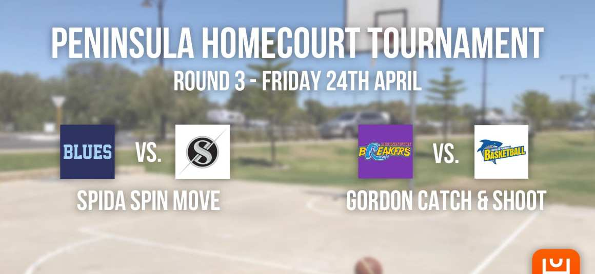 PENINSULA HOMECOURT TOURNAMENT – ROUND 3 RESULTS