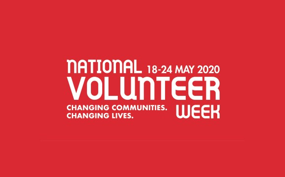 NATIONAL VOLUNTEER WEEK: WAVE YOUR APPRECIATION