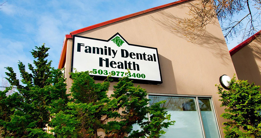 Family Dental Health building Portland