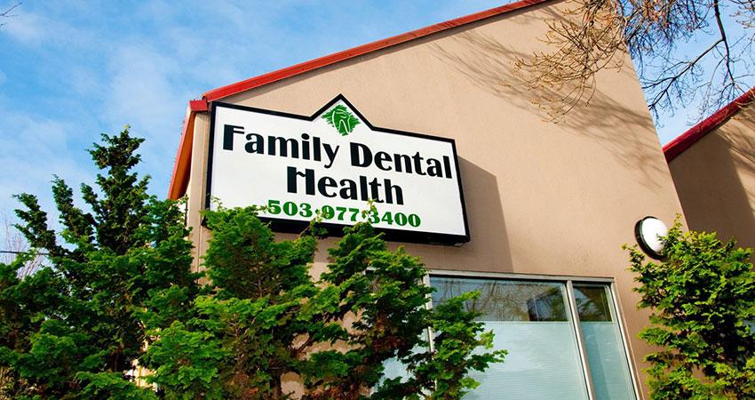 Family Dental Health building Portland