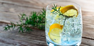 Record export sales for British gin