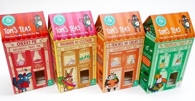 Qualvis creates new packaging solution for children's fruit tea start-up