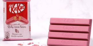 UK launch for KITKAT Ruby