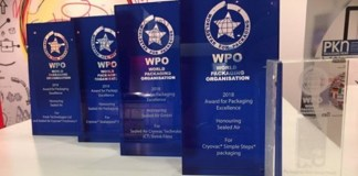 Sealed Air receives WorldStar & PIDA awards in 5 countries