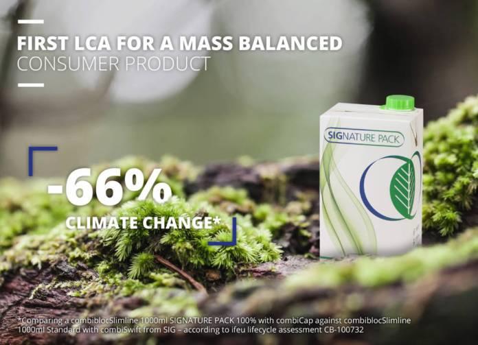 SIG packaging innovation making renewable materials mainstream