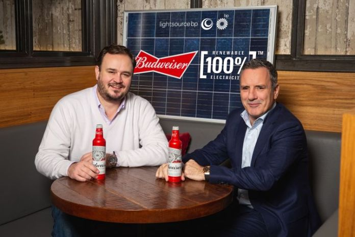 Budweiser to be brewed with renewables as UK operations go green
