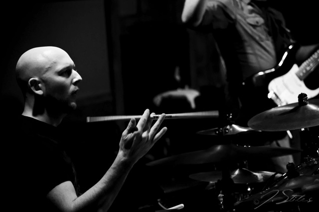 Percussionist Mike Underwood