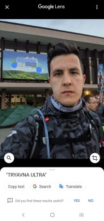 Căutare text în Google Photos pe Android