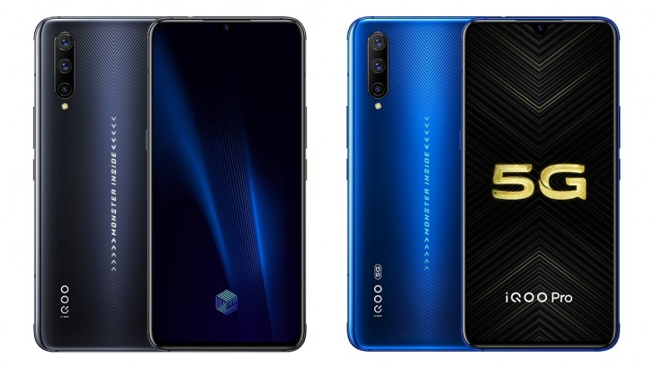 vivo iQOO Pro and iQOO Pro 5G are official with Snapdragon 855+, 44W fast charging
