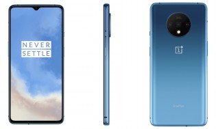 OnePlus 7T in Glacier Blue