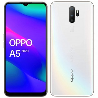 Oppo A5 (2020) in Dazzling White color