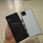 Google Pixel 4 XL in Black and White