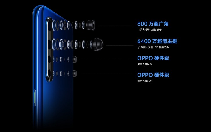 Oppo K5 comes as an upper-midranger with Snapdragon 730G and 64 MP camera