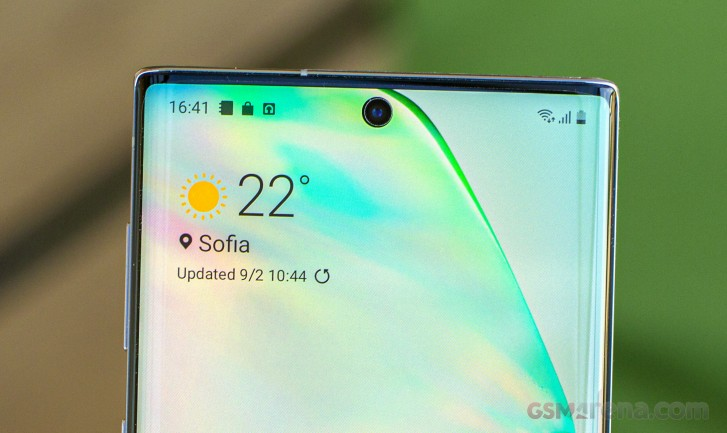 Samsung's under-display camera panels entering production this month