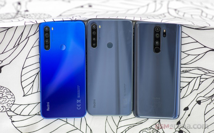 Redmi Note 8T, Redmi Note 8 and Redmi Note 8 Pro