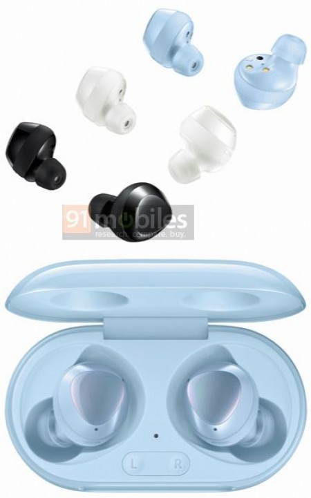Samsung Galaxy Buds+ show up in Sky Blue, same design confirmed