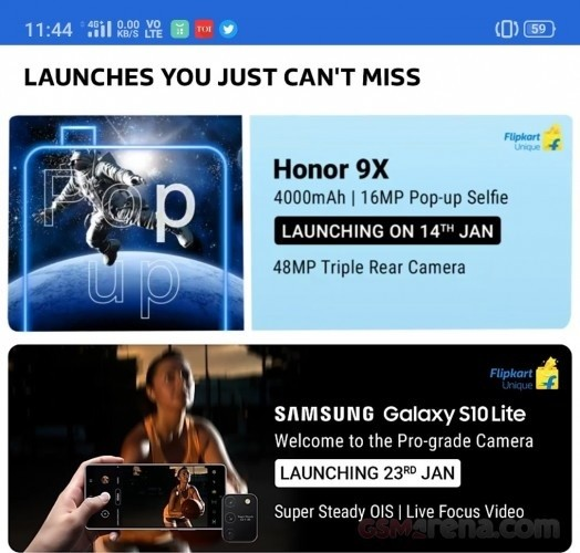 Samsung Galaxy S10 Lite India launch date revealed by Flipkart