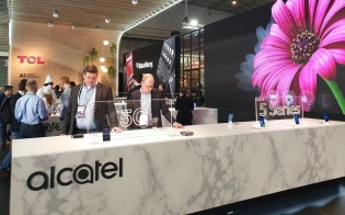 TCL & Alcatel's booth at MWC 2019
