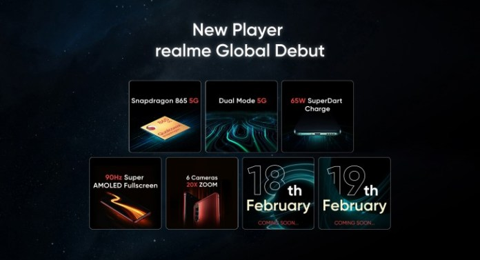 Realme confirms 20X zoom quad cameras on X50 Pro's preview site