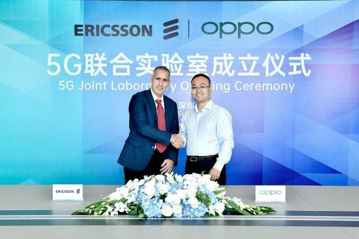 Luca Orsini, Kepala Jaringan dan Wakil Presiden, MNEA, Ericsson dan Andy Wu, Wakil Presiden Oppo dan Presiden Rekayasa Perangkat Lunak