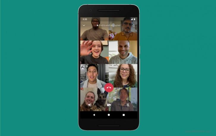 Facebook làm cho nó chính thức: Cuộc gọi video và âm thanh WhatsApp sẽ sớm có tới 8 người tham gia