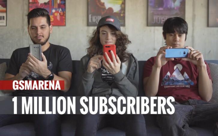 Saluran YouTube kami mencapai 1 juta pelanggan