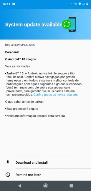 Motorola Moto G7 Play gets Android 10 update