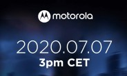 Motorola sets an event for July 7, might unveil the Edge Lite