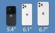 The two 6.1-inch iPhone 12 will launch first, 5.4