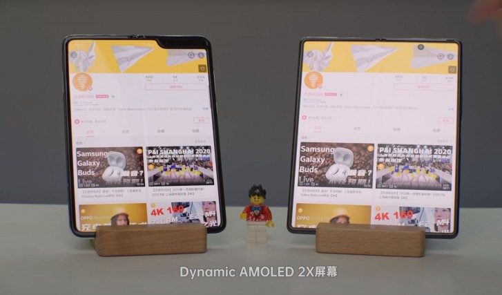 Samsung Galaxy Z Fold2 membintangi video ulasan pertamanya