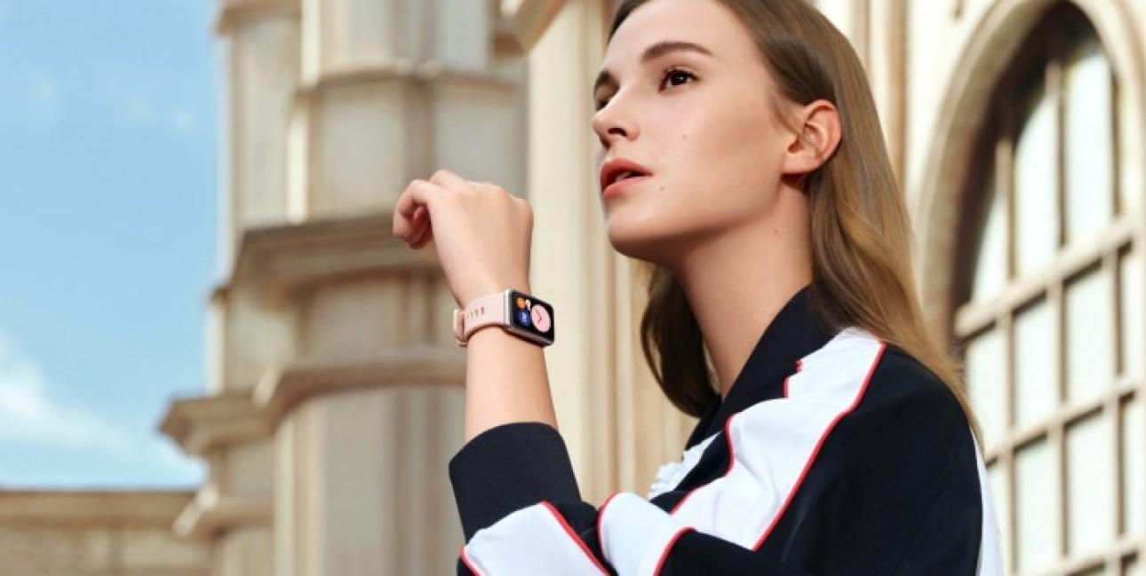 Huawei Watch Fit es oficial con gran pantalla rectangular, las ventas comienzan el jueves