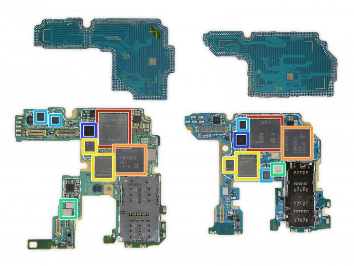 Beberapa Galaxy Note20 memiliki pendingin ruang uap, yang lain menggunakan grafit