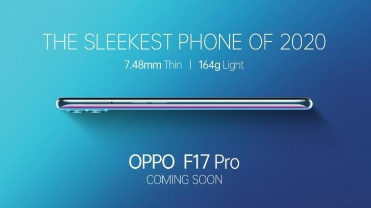 Oppo F17 serisi tasarımı son resmi videoda ortaya çıktı