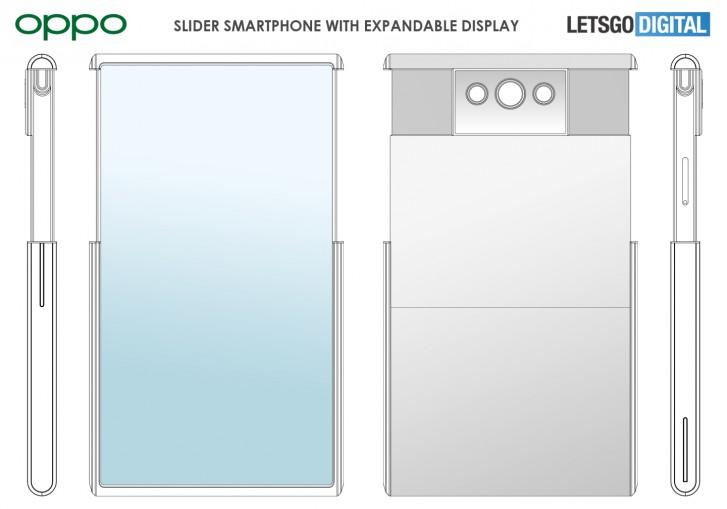 Oppo mematenkan ponsel slider dengan layar yang dapat diperpanjang